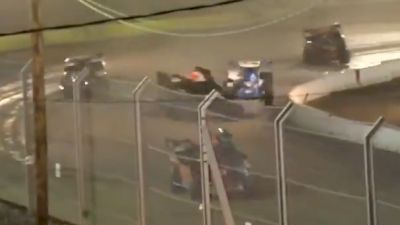Matt Sheppard Rides Over Tyler Dippel In Hard Clay Finale Heat Race