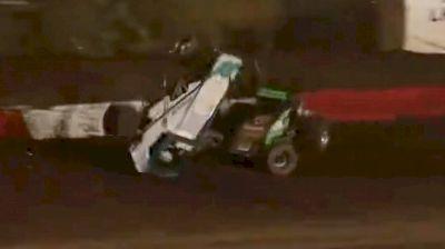 Austin Williams Walks Away From Big Crash At Perris