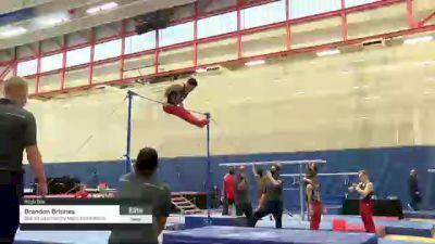 Brandon Briones - High Bar, Stanford University Mens Gymnastics - 2021 Men's Olympic Team Prep Camp