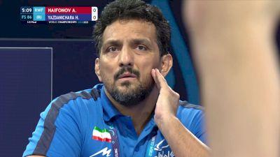 86 kg Semifinal - Artur Naifonov, Russian Wrestling Federation vs Hassan Yazdanicharati, Iran
