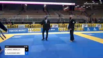 KHALID JAMAL ABDALLAN BAZZAR vs SAMUEL ALEXANDER BREMER 2020 World Master IBJJF Jiu-Jitsu Championship