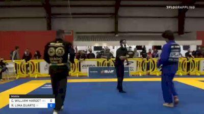 CHRISTOPHER WILLIAM HARGETT vs RAFAEL LIMA DUARTE 2020 Houston International Open IBJJF Jiu-Jitsu Championship