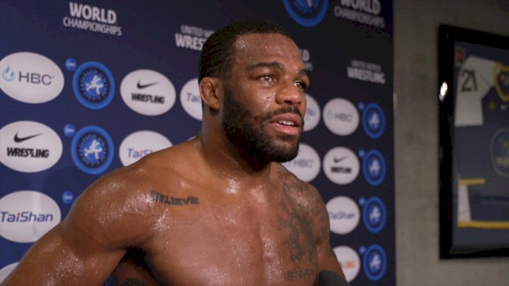 Jordan Burroughs Thought About Winning Sixth Gold Every Day