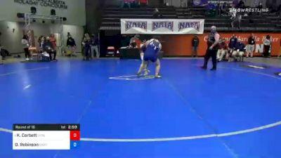 191 lbs Prelims - Kelani Corbett, Lyon vs Olivia Robinson, Eastern Oregon