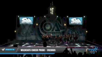 Wildcats Cheer Pride - Vicious [2021 L6 International Open - NT Day 1] 2021 COA: Midwest National Championship