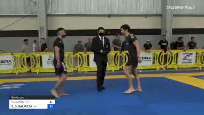 FRANCISCO CUNEO vs ENRIQUE D. GALARZA 2021 Pan IBJJF Jiu-Jitsu No-Gi Championship