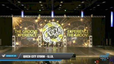 Queen City Storm - G.I.B. [2021 Junior - Pom Day 2] 2021 Groove Dance Nationals