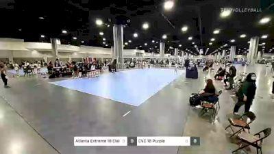 Atlanta Extreme 18 Claire vs CVC 18 Purple - 2021 Capitol Hill Volleyball Classic