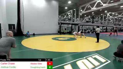182 lbs 3rd Place - Carter Chase, Stieber Elite vs Joshua Cordio, Doughboy/nashoba Regional