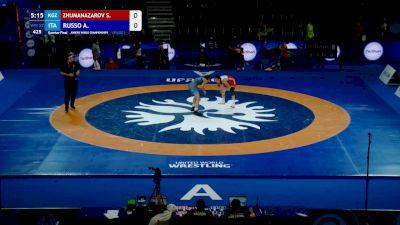 57 kg Quarterfinal - Sezim Zhumanazarova, KGZ vs Aurora Russo, ITA
