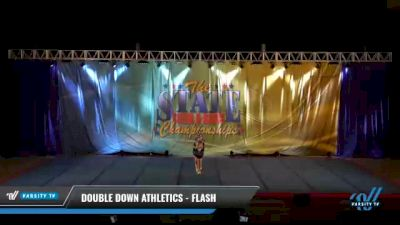 Double Down Athletics - Flash [2021 L3 Junior - D2 - Small Day 2] 2021 The STATE DI & DII Championships