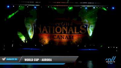 World Cup - Aurora [2021 L5 Senior Open Day 1] 2021 Cheer Ltd Nationals at CANAM