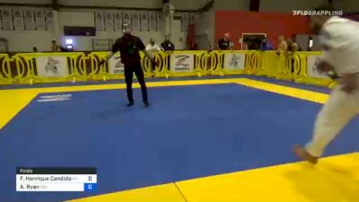 Flavio Henrique Candido vs Alek Ryan 2020 Houston International Open IBJJF Jiu-Jitsu Championship