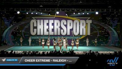 Cheer Extreme - Raleigh - Smoex [2020 Senior Medium Coed 6 Day 1] 2020 CHEERSPORT National Cheerleading Championship