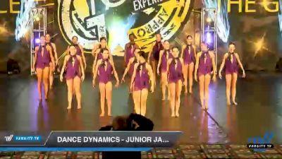 Dance Dynamics - Junior Jazz [2020 Junior - Jazz - Large Day 1] 2020 Encore Championships: Houston DI & DII