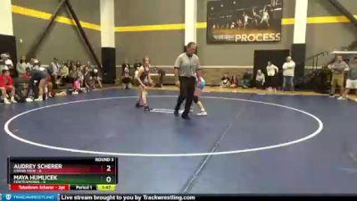 106 lbs Round 3 (3 Team) - Audrey Scherer, Grand View vs Maya Humlicek, FEWTeamIowa