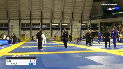 OTAVIO DE SOUZA NALATI vs MARCUS ALMEIDA 2019 World Jiu-Jitsu IBJJF Championship