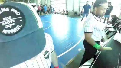 149 lbs Rr Rnd 1 - Cesar Dash, 10th Planet vs Angelina Alonzo, Lions Den WC