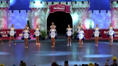 St Ursula Academy [2018 Small Pom Finals] UDA National Dance Team Championship