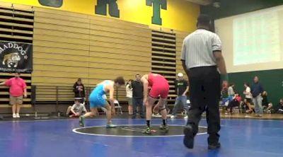 135 lbs match Sonny Simonetti Jersey Fresh vs. Dakota Geer Ragin Raisins