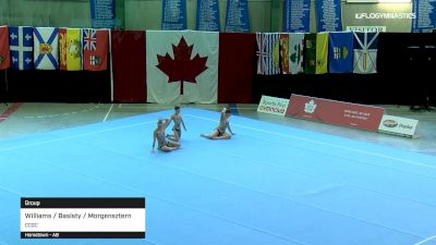 Williams / Basisty / Morgensztern - Group, CCGC - 2019 Canadian Gymnastics Championships - Acro