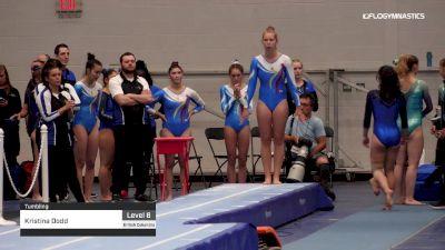 Kristina Dodd - Tumbling - 2019 Canadian Gymnastics Championships - TG