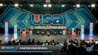Canyon High School [2020 Large Varsity Jazz (12-23) Day 2] 2020 USA Spirit Nationals