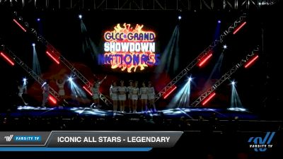 Iconic All Stars - Legendary [2020 L6 International Open - NT - Coed Day 2] 2020 GLCC: The Showdown Grand Nationals