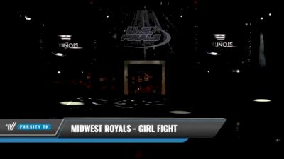 Midwest Royals - Girl Fight [2021 L1 Junior - D2 Day 1] 2021 The U.S. Finals: Kansas City