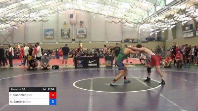 74 kg Round Of 32 - Emil Soehnlen, Boilermaker RTC vs Adam Santoro, Cornell