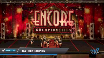 XCA - Tiny Troopers [2021 L1 Tiny - D2 Day 2] 2021 Encore Championships: Pittsburgh Area DI & DII