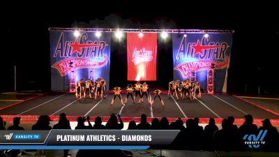 Platinum Athletics - Diamonds [2021 L2 Senior - Small Day 3] 2021 ASCS: Tournament of Champions & All Star Prep Nationals