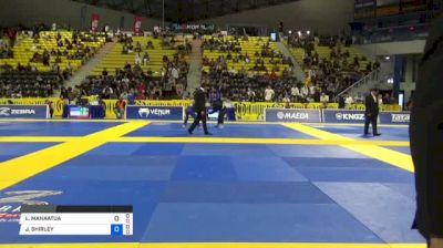 LIE MANAATUA vs JASON SHIRLEY 2018 World IBJJF Jiu-Jitsu Championship