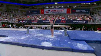 Leanne Wong - Beam, GAGE - 2021 US Championships Senior Competition International Broadcast