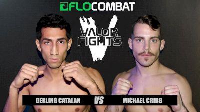 Derling Catalan vs. Michael Cribb - Valor Fights 46
