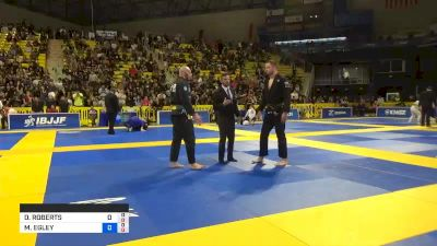 DENIS ROBERTS vs MICHAEL EGLEY 2019 World Jiu-Jitsu IBJJF Championship