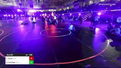 120 lbs Round Of 32 - Lorenzo Avila, Bear Cave vs Daylan Forshee, Team Montana
