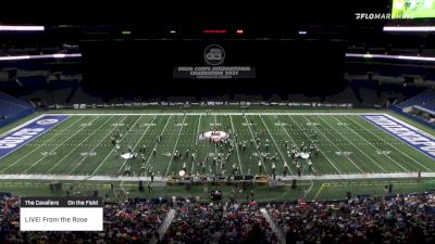 """LIVE! From the Rose """"The Cavaliers"""" at 2021 DCI Celebration (High)"""