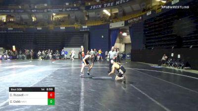 133 lbs Consolation - Codi Russell, Appalachian State vs Casey Cobb, Navy