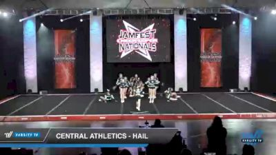 Central Athletics - Hail [2021 L3 Junior - D2 - Small - A Day 2] 2021 JAMfest Cheer Super Nationals