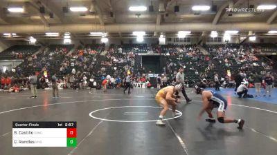Quarterfinal - Blake Castillo, Concordia (Neb.) vs Casey Randles, Wyoming
