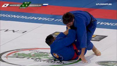 Minseok Heo vs Abdurakhman Bilarov Abu Dhabi World Professional Jiu-Jitsu Championship