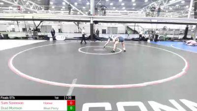 225 lbs Final - Sam Sorenson, Homer vs Brad Morrison, West Perry