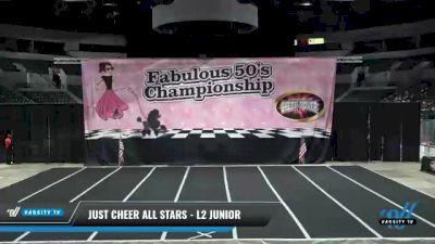 Just Cheer All Stars - L2 Junior [2021 Wildcats] 2021 ACP Disco Open Championship: Trenton