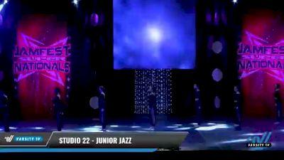 Studio 22 - Junior Jazz [2021 Junior - Prep - Jazz Day 1] 2021 JAMfest: Dance Super Nationals