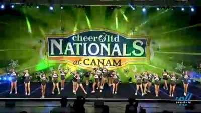 American Cheer - SR BLACK [2021 L3 Senior Coed Day 1] 2021 Cheer Ltd Nationals at CANAM
