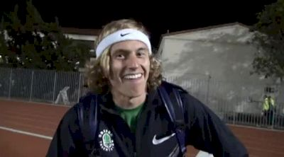 Evan Jager faces the water pit and talks mental lapse in steeple after 2012 USATF Oxy 2012