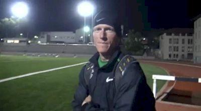 Matt Tegenkamp runs 3100m workout in 5k at 2012 USATF Oxy 2012