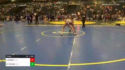 126 lbs Final - John Smith, Yuma Wrestling vs Blaine Christo, MWC Wrestling Academy
