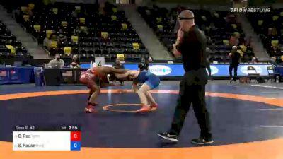 65 kg Consolation - Chad Red, Nebraska Wrestling Training Center vs Sean Fausz, TMWC / SoCal RTC